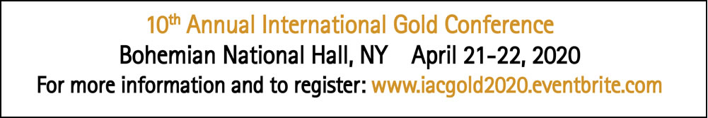 Register NOW for the 10th Annual International Gold Conference!