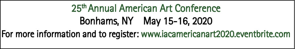 Register NOW for the 25th Annual American Art Conference