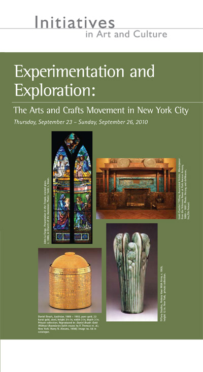 Experimentation and Exploration: The Arts and Crafts Movement in New York City