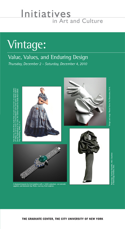 Vintage: Value, Values, and Enduring Design